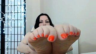 Bbw foot domination