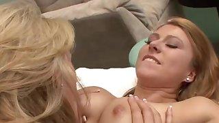 Lesbian massages heads horny
