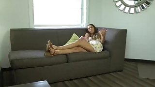 bratty sis - catching step-brother with..