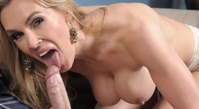 Slutty blonde Mummy Tanya..