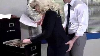 Slutty secretary office..