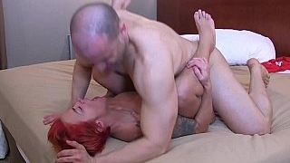 Lush redheaded MILF gets..