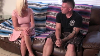 Mom Gives Cockslut Lessons..
