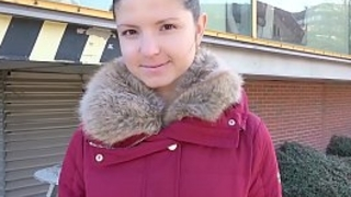 GERMAN SCOUT - Teen Gina bei..