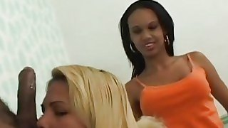 Shirley  Blonde Tranny In..