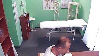 Puny big nut patient bangs..