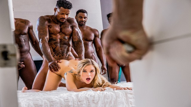 BLACKED Kali Rose Gets..