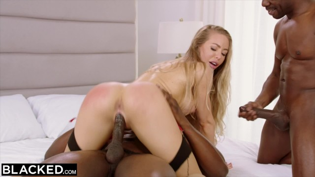 BLACKED Nicole Aniston Is..