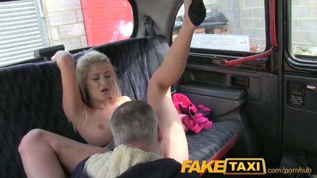 FakeTaxi Hot blond knows all..