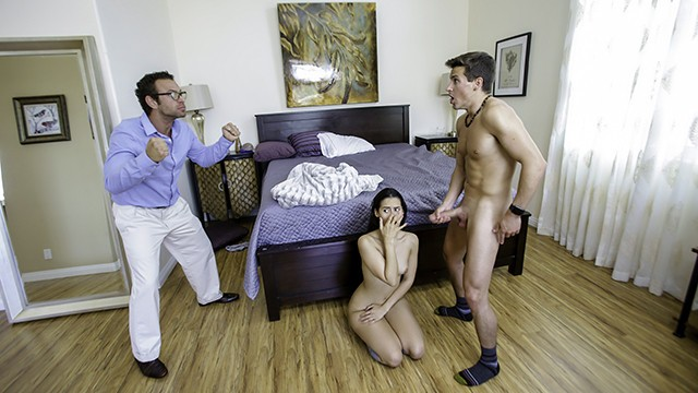 Latina Stepsister Drains Her..