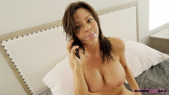 MomsTeachSex - Caught Spying..