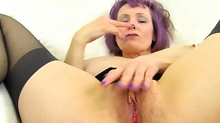 Buxomy and British milf Lulu..