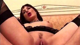 French Lady in underwear..
