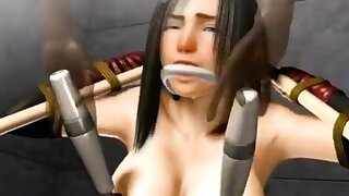 Busty hentai girl hot..