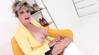 Big-titted mature Chick..