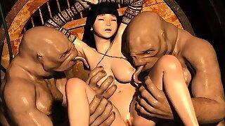 3D Victim Girls Ravaged by..