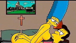 Marge Simpson hentai Mummy