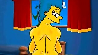 Marge Simpson anal sexwife