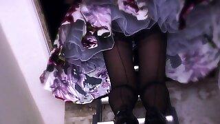 Burlesque Dress Upskirt