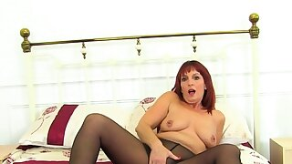 UK gilf Clare pounds her..