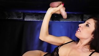 Lingerie masseur tugs and..